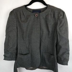 Banana Republic Gray Blazer Suit Wool Jacket